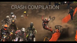 Motocross crash compilation funny  scary crashes