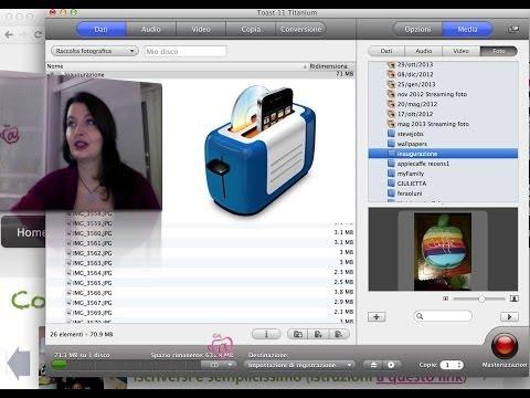 Come DUPLICARE DVD Su Mac O Convertire Video Per IPhone E IPad (Toast 11 Review)