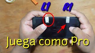 Como hacer Botones L1 y R1 para Android