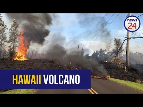 WATCH: Hawaii volcano guts through homes