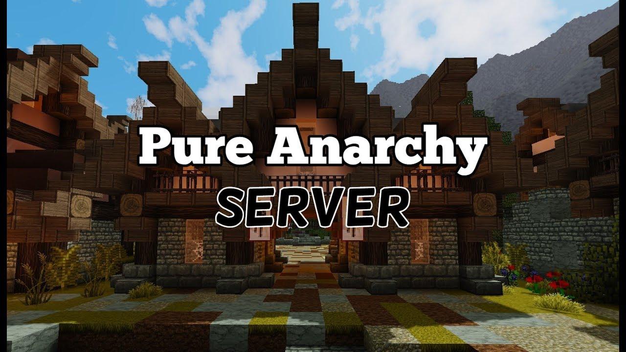 minecraft anarchy server no rules