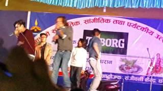 B8EIGHT- Aakha ko bato Dharan mela 2015