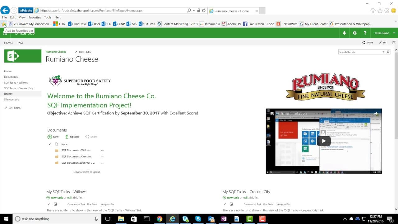 Pro Tip - File Explorer Setup in Office 365/SharePoint