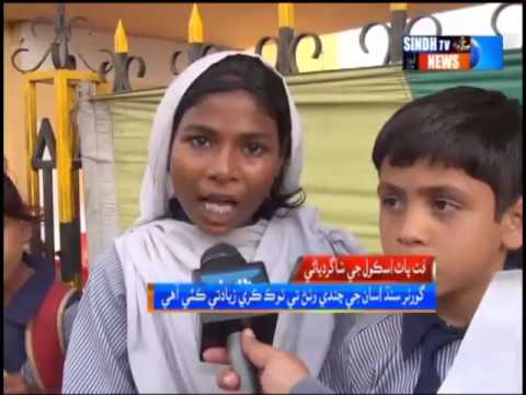 Ocean Welfare Organization staged a protest against Governor Sindh's behavior