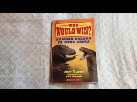 Who Would Win? Komodo Dragon vs. King Cobra – book review