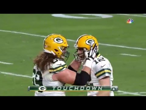 Aaron Rodgers | 2nd Hail Mary | Touchdown vs Arizona Cardinals | NFL Playoffs 2016 [HD]