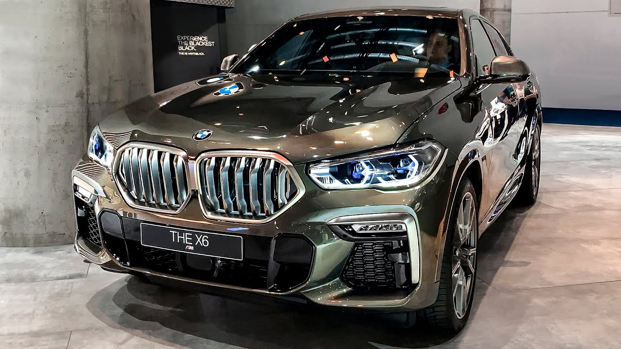 2020 Bmw X6 M Sport M50i Excellent Suv Youtube