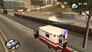Let´s Play GTA San Andreas #009 - Krankenwagenmission (Gequatsche) II [100%]