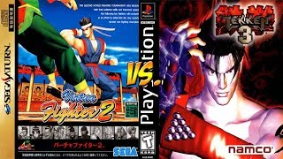 Sega Saturn: Virtua Fighter 2 vs Tekken 3! - YoVideogames