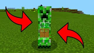 How To Live Inside the Creeper in Minecraft Pocket Edition (MCPE)