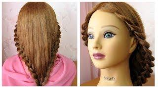 Tuto coiffure simple et rapide pour tous les jours 💫 cheveux long/mi long 💫 Coiffure avec tresse