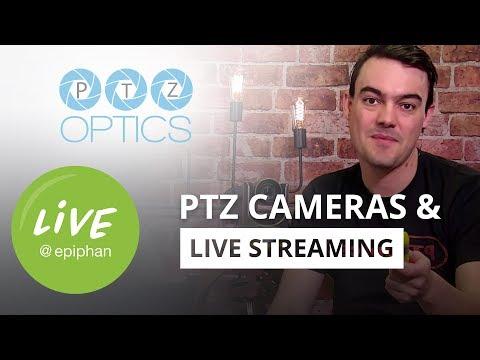 PTZ cameras and live streaming with PTZ Optics' Paul Richards