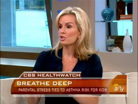 Stress Ups Child Asthma Risk