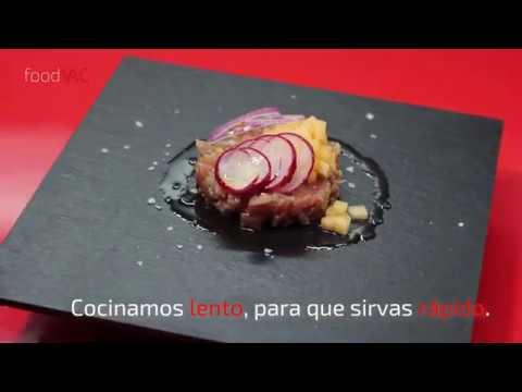 Regeneración de Tartar de Atún foodVAC