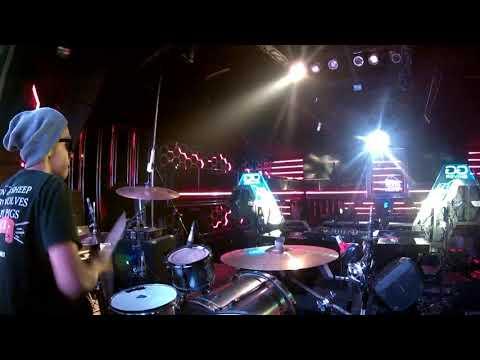 """Drum cam drummer mirip """"ARI HAMZAH ex Soekamti"""" Hilang Harapan Stang Here Alone cover ASC Temanggung"""