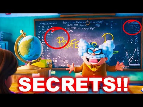 Thumbnail: Captain Underpants Movie Trailer (Easter Eggs / Secret Characters) New 2017 Theory