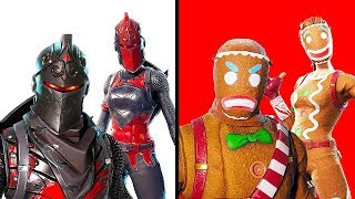 10 BEST COUPLE SKINS IN FORTNITE | Chaos