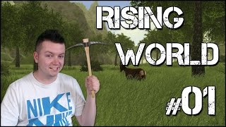 Rising World #01 - Nowy Świat [Minecraft & The Forest]