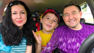 We are in the Car | Are We There Yet Song | Nursery Rhymes & Kids Songs by Nart and family