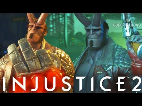 "Epic Demon Hellboy Wants To Destroy! - Injustice 2 ""Hellboy"" Gameplay (Online Ranked)"