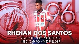 Rhenan dos Santos - Volante/Meio Campo (Def.Midifielder/Midifielder) 96 | HD #AFERANALENTE 2018