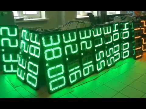 видео обзор электронных табло ITLINE