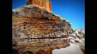 Pine Creek Trailhead, Bishop, California.  (Part 1).
