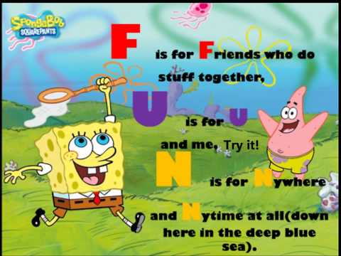 Spongebob ft. Plankton - F.U.N Song Lyrics