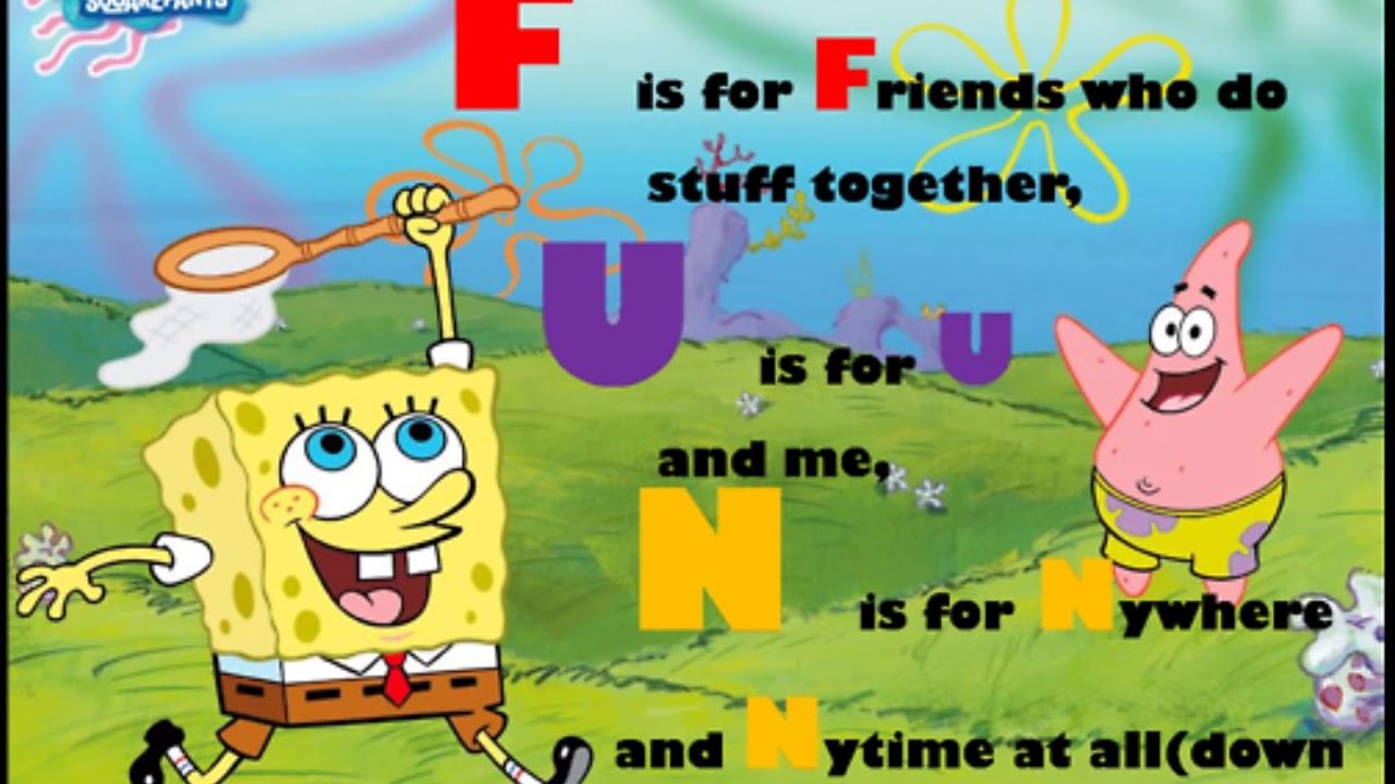 Fun Song Meme : Spongebob ft plankton f u n song lyrics youtube
