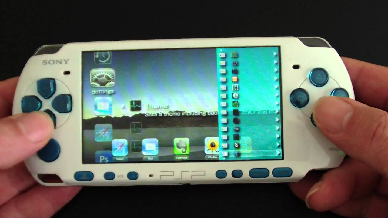 how to add custom firmware to psp