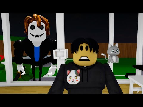 My House isn't safe from BAKON in Roblox BrookHaven