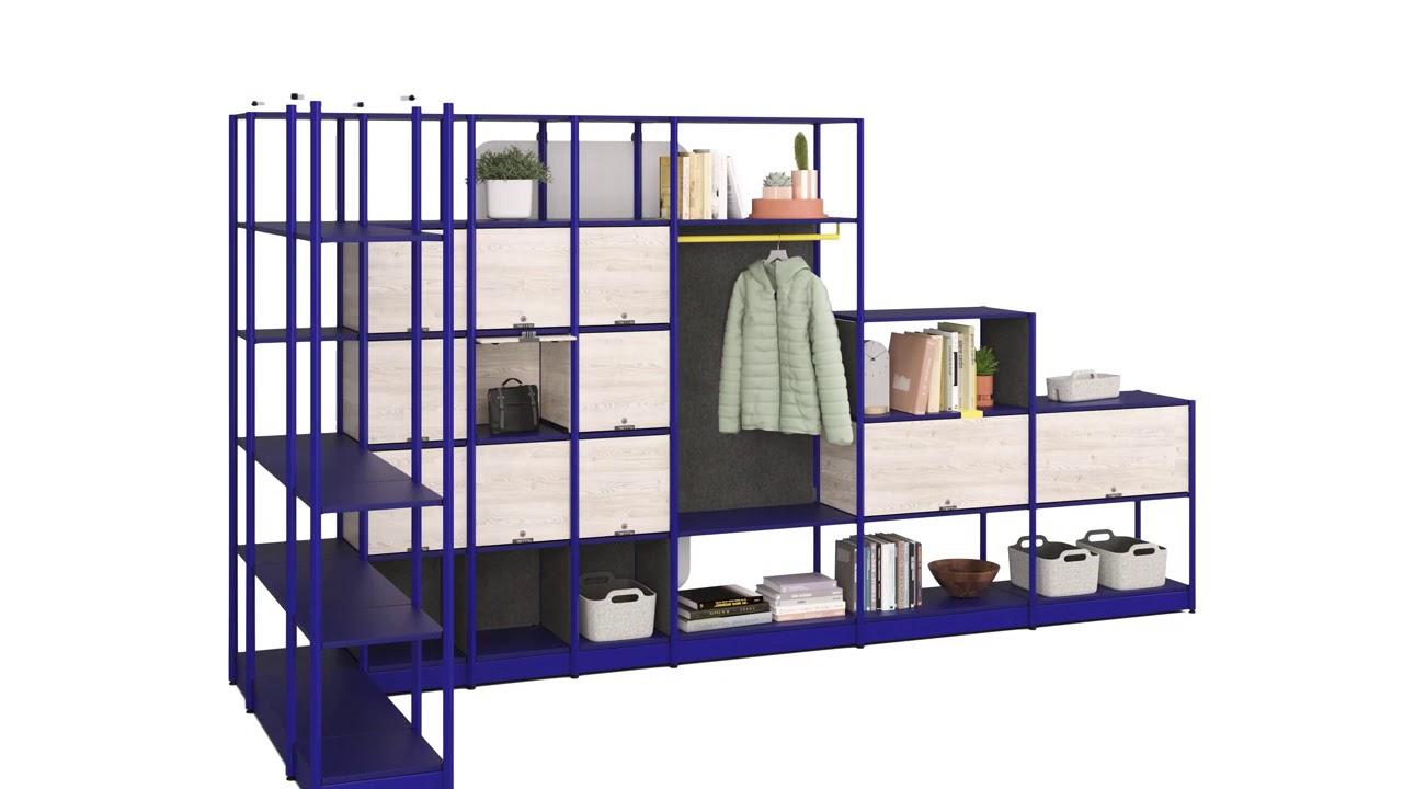 Steelcase Flex Active Frames Animation