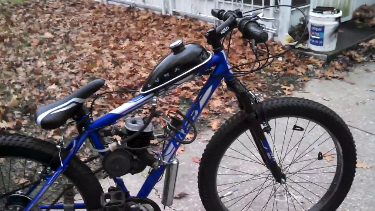 FAT TIRE SNOW BIKE motorized bicycle 2-stroke 66cc 80cc