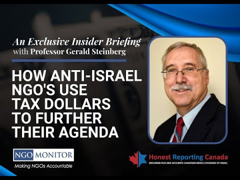 HRC Webinar: How Anti-Israel NGO's Use Tax Dollars to Further Their Agenda