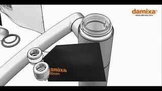 Ремонт смесителя Damixa Arc(Рем комплект вы можете приобрести в интернет магазине www.santehnikavip.com.ua тел 0507191111., 2015-03-02T11:00:10.000Z)