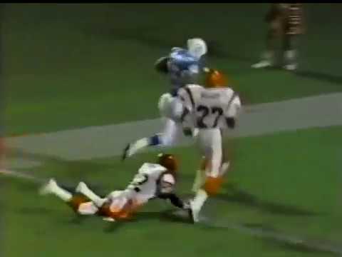 1991 Wk 15 Miami Beats Cincinnati 37-13; Highlights With Radio Call