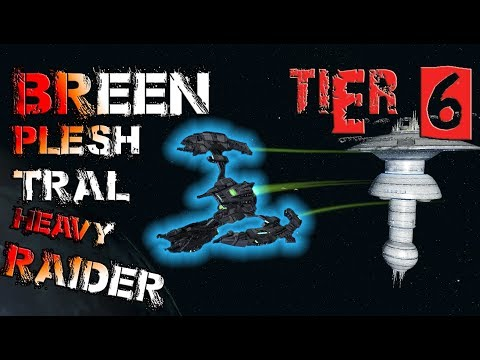 Breen Plesh Tral Heavy Raider [T6] – with all ship visuals -