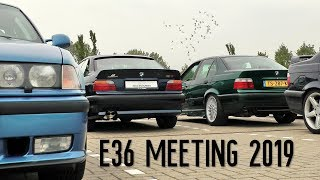 Laid-Back BMW E36 Meeting 19.05.2019 Reeuwijk Netherlands