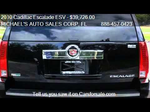 2010 Cadillac Escalade ESV Premium - for sale in Hollywood,