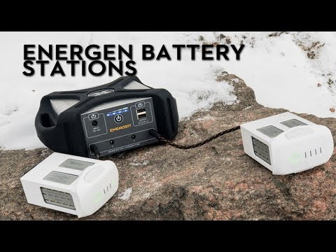 Energen Battery Charging Stations - A MUST see for DRONE lovers!