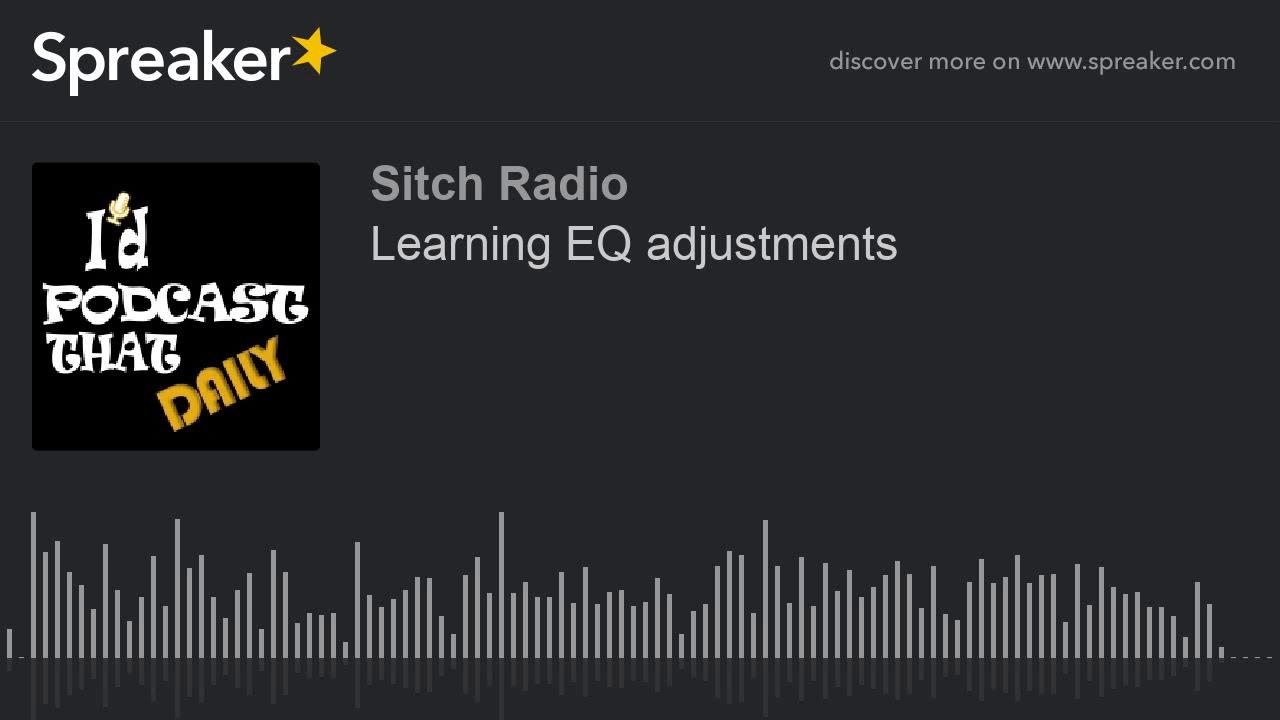 Learning EQ adjustments - YouTube