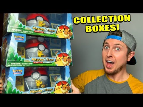 FULL ART and GX CARDS inside my POKEMON OPENING OF COLLECTION BOXES!