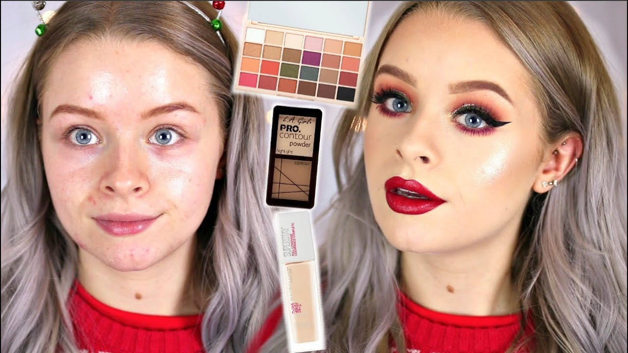 Drugstore makeup tutorial
