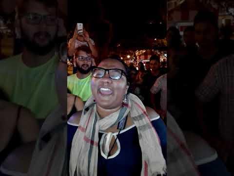 Me Fui, cantante venezolana en parque kennedy