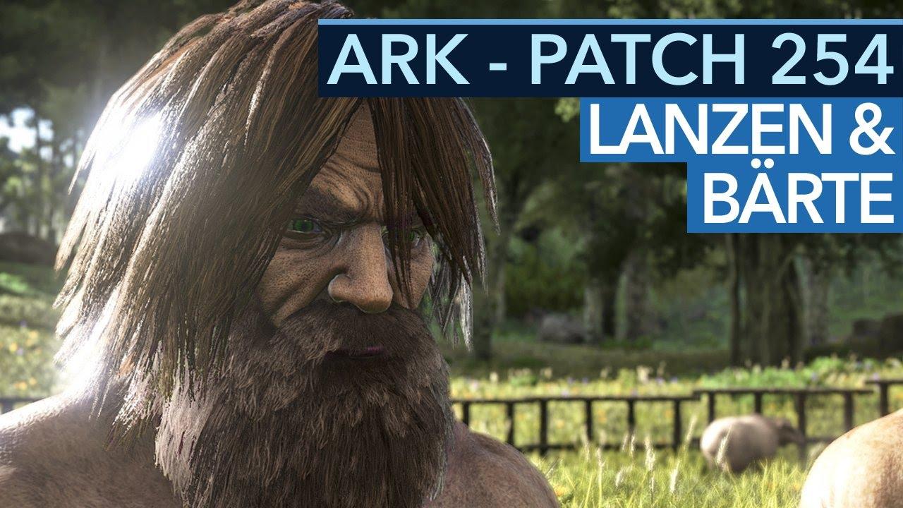 Ark Survival Evolved Nach Patch 254 Neue Frisuren Bärte