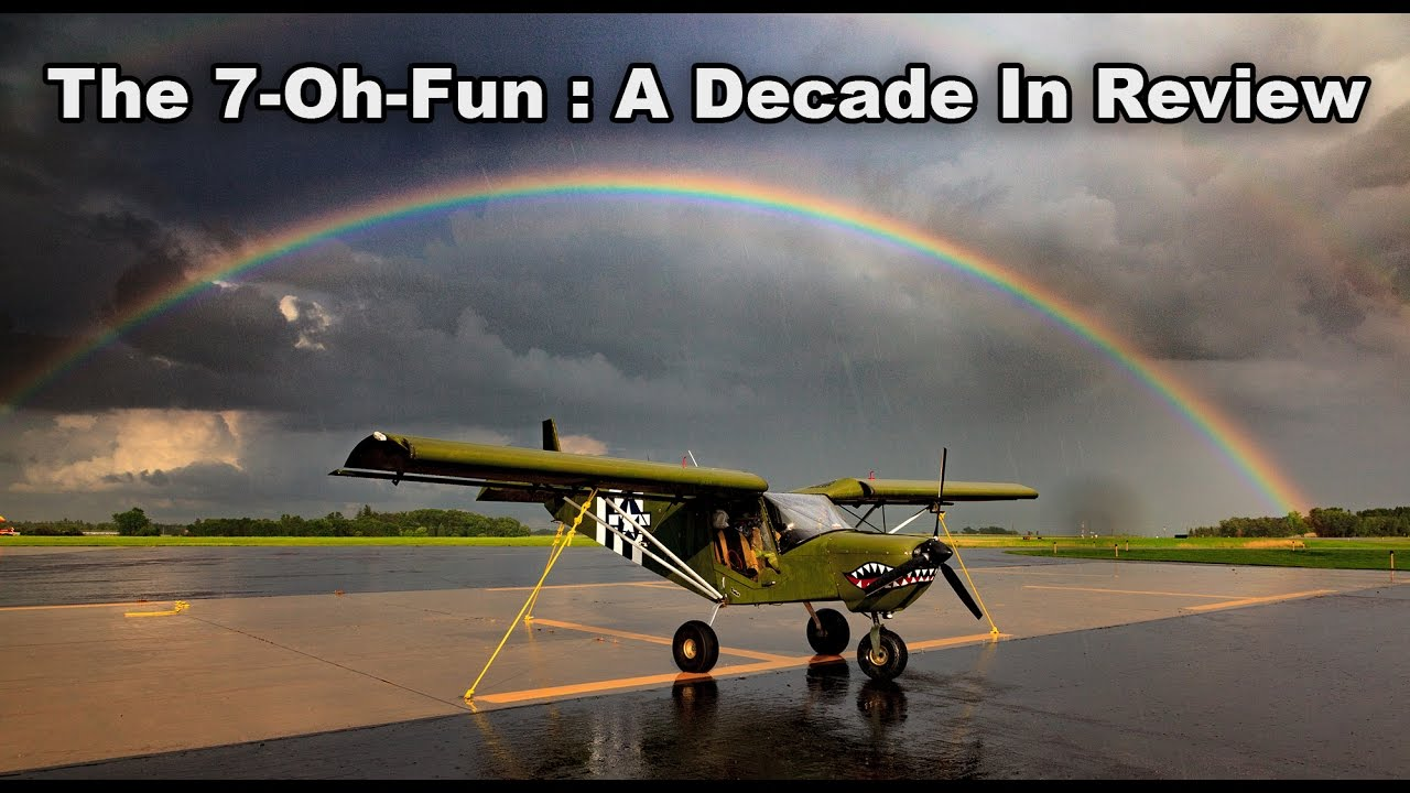 Second plane exclusively for fun – straight tail 172 or Kitfox