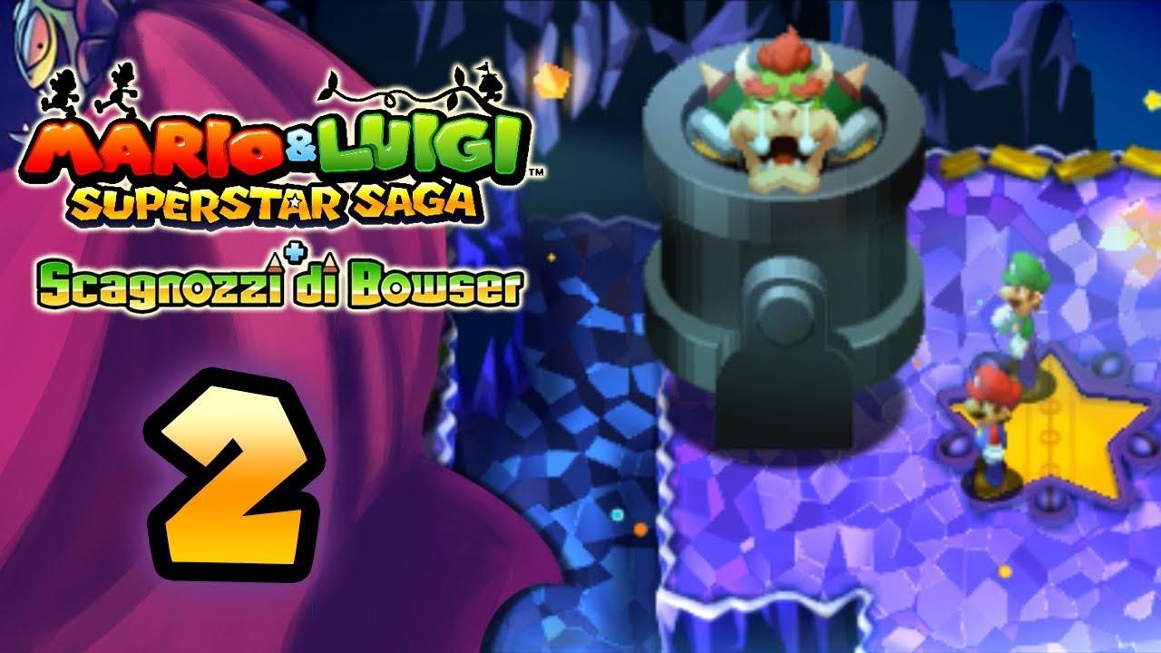 d2f5cc1e02fb2 Mario   Luigi Superstar Saga + Scagnozzi di Bowser ITA  Parte 2 - Cannone  astrale