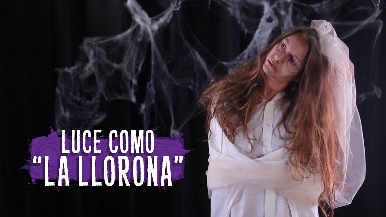 mituTERROR  Maquillaje y Disfraz La Llorona  YouTube