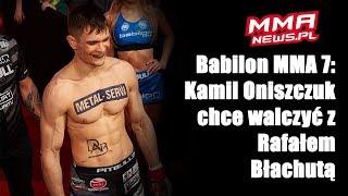 Babilon MMA 7: Kamil Oniszczuk pokonał mistrza TFL przez kontuzję