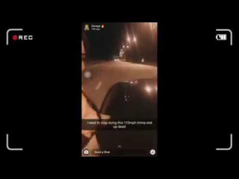 Jovem cai de janela de carro em alta velocidade ao gravar vídeo; veja